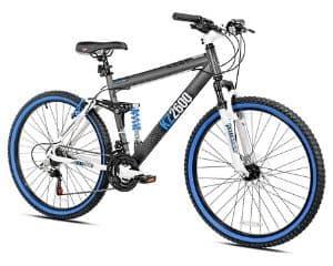 Kent KZ2600 Dual-Suspension Beginner Mountain Bike