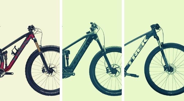 Best trek mountain bikes