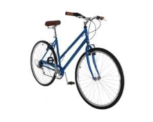 vilano step through city bike 7 speed hybrid urban retro commuter