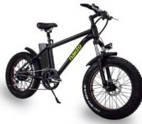 Nakto 20-Inch Electric Bike Fat Tire Bike